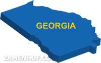 מפת גאורגיה