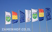 דגל רומניה והאיחוד האירופאי